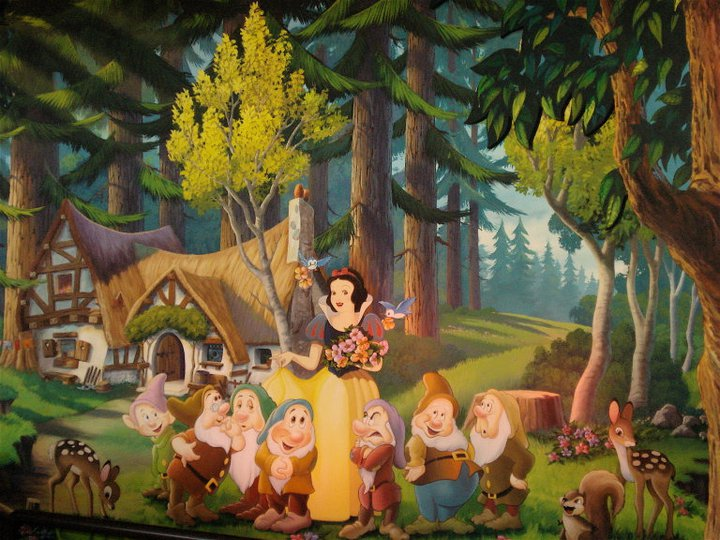 Amazing Snow White Wall Mural Nice Ideas Part 4