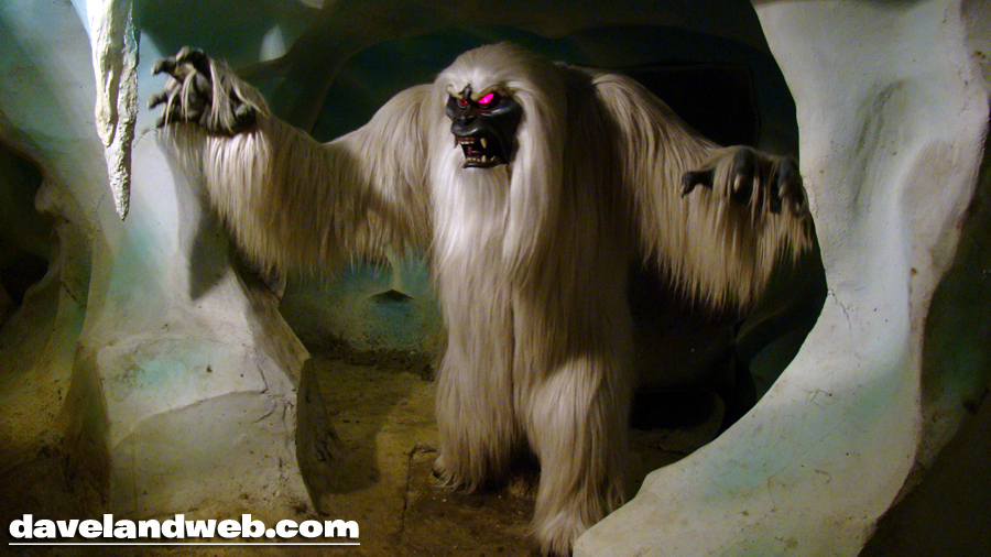 the abominable snowman from inside the matterhorn at disneyland parkAbominable Snowman Matterhorn