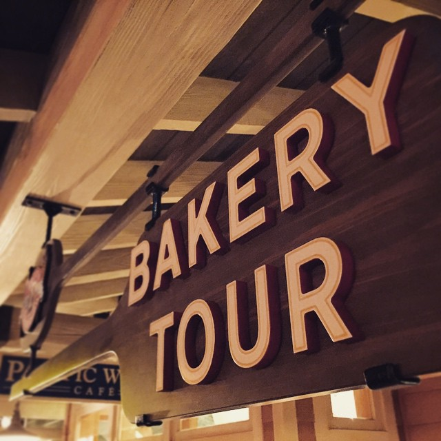 Have you done the new #boudin #bakerytour? #pacificwharf #dca #disneycaliforniaadventure