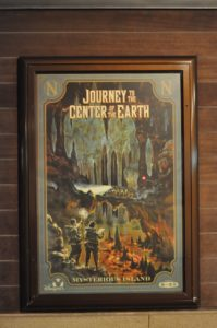 """Journey..."" attraction poster at the park entrance"