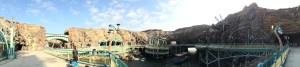 A panorama shot of Mysterious Island!