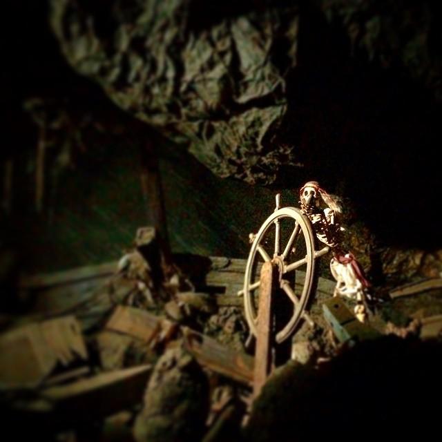 My favorite scene in #piratesofthecaribbean. What's yours? #disneyland #neworleanssquare