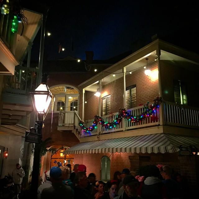 #Disneyland #neworleanssquare #christmastime
