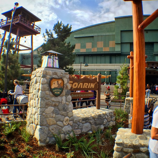 #grizzlypeakairfield is also rad. #dca #disneycaliforniaadventure #soarinovercalifornia