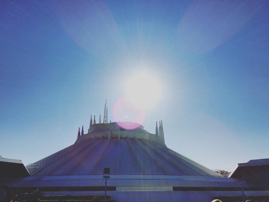 A beautiful day here at The magic kingdom of disneyland!!